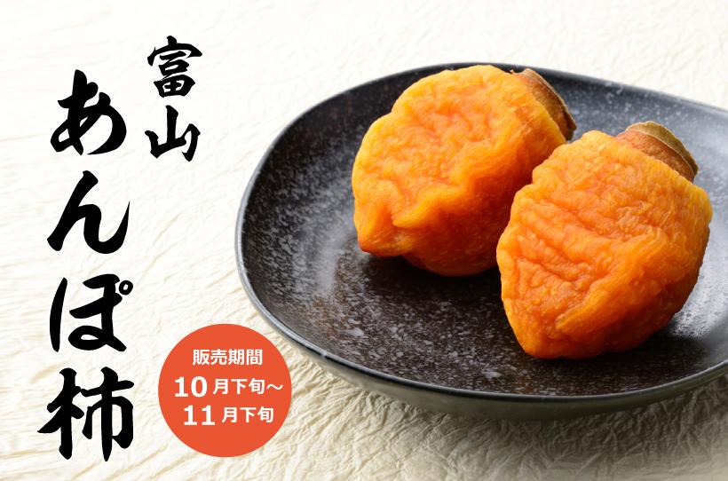 Japanese Toyama Anpogaki (Half-Dried Persimmon) Gift Box — MomoBud