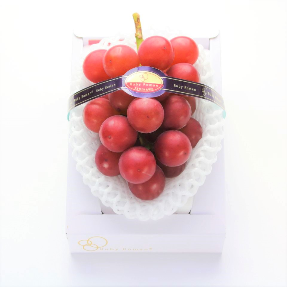 Japanese Ruby Roman Grape Gift Box (700g) — MomoBud